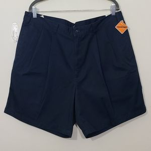Dockers Mens Stain Defender Blue Shorts Size 38